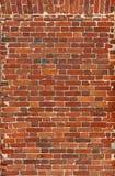 Предпосылка блока старая кирпичная стена красных кирпичей Стоковое Изображение