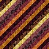 Предпосылка Брайна племенная случайных спиральных форм иллюстрация штока