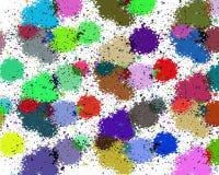 Предпосылка брызга красок Стоковые Изображения