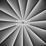 Предпосылка вектора абстрактного полутонового изображения творческая геометрическая Стоковая Фотография