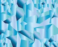 Предпосылка вектора воды голубая геометрическая иллюстрация вектора