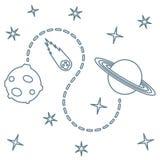 Предпосылка вектора космоса astrix наука бесплатная иллюстрация