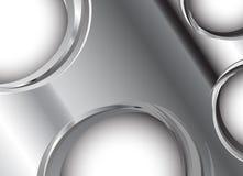 Предпосылка вектора металлическая Стоковое Изображение RF