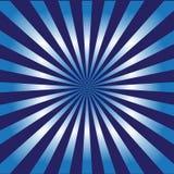 Предпосылка вектора ночной жизни типа Sunburst Стоковые Изображения RF