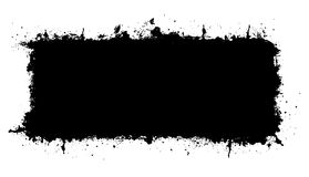 Предпосылка вектора черная Стоковое фото RF