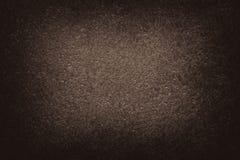 Предпосылка виньетки текстуры темного коричневого цвета бежевая абстрактная Стоковые Фото
