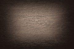 Предпосылка виньетки текстуры темного коричневого цвета бежевая абстрактная Стоковые Фотографии RF