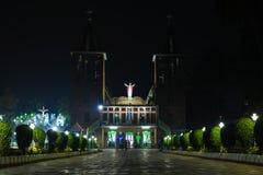 Предпосылка виска Индии религиозная Иисуса церков рождества стоковые фотографии rf