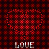 Предпосылка влюбленности стоковые изображения