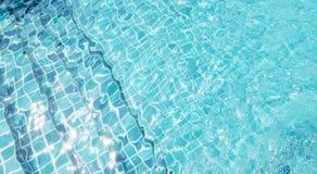 Предпосылка воды бассейна Стоковые Фото
