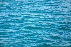 Предпосылка воды бирюзы, текстура моря Стоковые Изображения RF