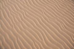 Предпосылка волн песка Стоковое Изображение