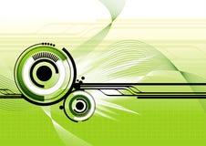 предпосылка высокотехнологичная Стоковое Изображение RF