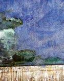 Предпосылка в различных тенях син Стоковая Фотография