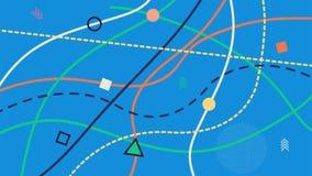 Предпосылка в стиле Мемфиса геометрическая картина безшовная Ретро 80 ` s тканье женщина типа способа стороны подбитых глаз сексу Стоковое Изображение RF