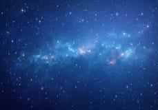 Предпосылка глубокого космоса Стоковая Фотография
