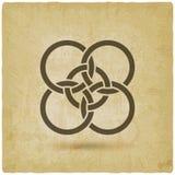 Предпосылка года сбора винограда 5 блокировать кругов бесплатная иллюстрация
