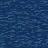 Предпосылка голубой картины вектора волн воды Aqua безшовная Бесплатная Иллюстрация