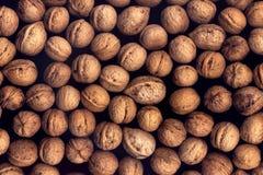 Предпосылка грецких орехов Стоковые Изображения
