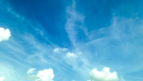 Предпосылка движения неба сток-видео