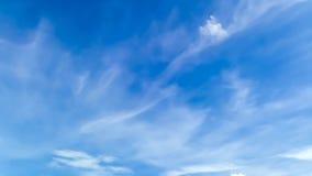 Предпосылка движения неба видеоматериал