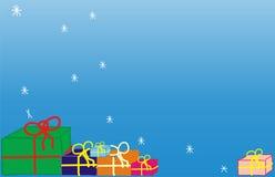предпосылка декабрь Стоковое Изображение