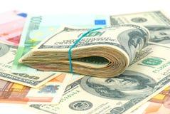 Предпосылка денег Стоковая Фотография RF