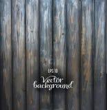Предпосылка деревенской деревянной планки серая винтажная Стоковое Изображение RF
