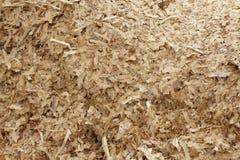 Предпосылка деревянных Shavings Стоковые Фотографии RF