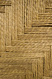 предпосылка детализировала weave веревочки травы Стоковые Фото