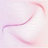 Предпосылка деформации нашивки цвета вектора Стоковое Фото