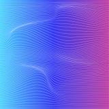 Предпосылка деформации нашивки цвета вектора Стоковые Фото
