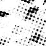 Предпосылка дизайна иллюстрации точек полутонового изображения бесплатная иллюстрация