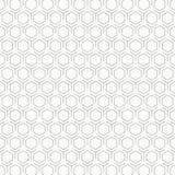 Предпосылка дизайна картины шестиугольника конспекта винтажная черно-белая r иллюстрация штока
