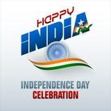 Предпосылка для индийского торжества Дня независимости Стоковые Фотографии RF