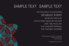 Предпосылка для плаката события, подарочного купона, карточки приглашения, рамки рекламы и для серий ваших отличных идей вектор Стоковые Фото