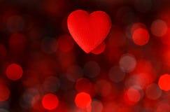 Предпосылка дня Валентайн с сердцем Иллюстрация штока
