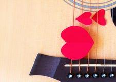 Предпосылка дня валентинок с сердцем и розами сбор винограда типа лилии иллюстрации красный Стоковая Фотография RF