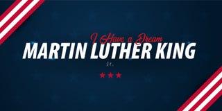 Предпосылка дня Мартин Лютер Кинга сновидение имеет I также вектор иллюстрации притяжки corel бесплатная иллюстрация