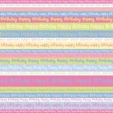 Предпосылка дня рождения Стоковые Фотографии RF