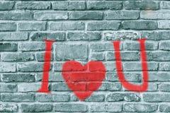 Предпосылка дня Valentin с символом красного сердца Стоковое Изображение