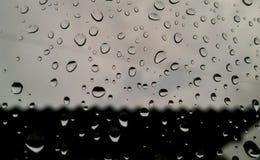 Предпосылка дождевых капель Стоковая Фотография RF