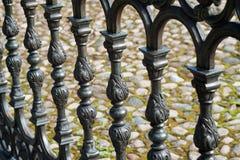 предпосылка загородки металла Стоковые Фотографии RF