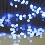 Предпосылка запачканных светов города на ноче Стоковое Фото