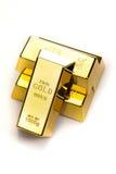 предпосылка запирает белизну золота крупного плана Стоковые Изображения RF