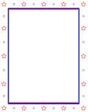 предпосылка запирает звезды Стоковые Фотографии RF