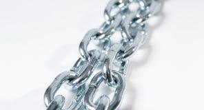 Предпосылка звена цепи безопасностью белая, воодушевленность blockchain Стоковое Изображение RF