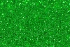 Предпосылка зеленого яркого блеска defocused стоковые фотографии rf