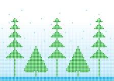 Предпосылка зимы Стоковые Фотографии RF