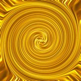 Предпосылка знамени свирли золота роскошная Стоковые Фото